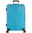 Большой чемодан спиннер L'case New-Delhi blue (71 см)