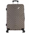 Большой чемодан спиннер L'case New-Delhi coffee (71 см)