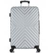 Большой чемодан спиннер L'case New-Delhi gray (71 см)