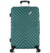 Большой чемодан спиннер L'case New-Delhi green (71 см)