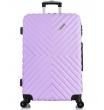 Большой чемодан спиннер L'case New-Delhi light purpule (71 см)