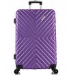 Большой чемодан спиннер L'case New-Delhi purpule (71 см)