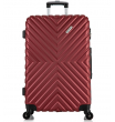 Большой чемодан спиннер L'case New-Delhi red wine (71 см)