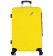 Большой чемодан спиннер L'case New-Delhi yellow (71 см)