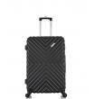 Малый чемодан спиннер L'case New-Delhi black (50 см) ~ручная кладь~