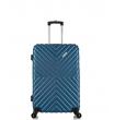 Малый чемодан спиннер L'case New-Delhi dark blue (50 см) ~ручная кладь~