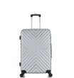 Малый чемодан спиннер L'case New-Delhi gray (50 см) ~ручная кладь~