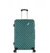 Малый чемодан спиннер L'case New-Delhi green (50 см) ~ручная кладь~