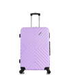 Малый чемодан спиннер L'case New-Delhi light purpule (50 см) ~ручная кладь~