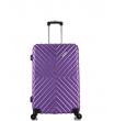 Малый чемодан спиннер L'case New-Delhi purpule (50 см) ~ручная кладь~