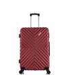 Малый чемодан спиннер L'case New-Delhi red wine (50 см) ~ручная кладь~