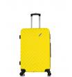 Малый чемодан спиннер L'case New-Delhi yellow (50 см) ~ручная кладь~