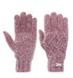 Перчатки женские Fila gloves малиновые