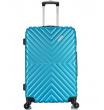 Средний чемодан спиннер L'case New-Delhi blue (61 см)