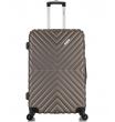 Средний чемодан спиннер L'case New-Delhi coffee  (61 см)