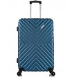Средний чемодан спиннер L'case New-Delhi dark blue (61 см)
