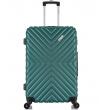 Средний чемодан спиннер L'case New-Delhi green (61 см)