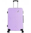 Средний чемодан спиннер L'case New-Delhi light purpule (61 см)