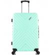 Средний чемодан спиннер L'case New-Delhi mint (61 см)