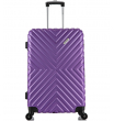 Средний чемодан спиннер L'case New-Delhi purpule (61 см)