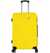 Средний чемодан спиннер L'case New-Delhi yellow (61 см)