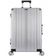 Большой чемодан спиннер L'case Abu Dhabi silver (78 см)