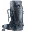 Туристический рюкзак Deuter Futura Vario 50+10 graphite-black