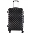 Средний чемодан спиннер L'case Phatthaya black (69 см)
