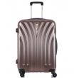 Средний чемодан спиннер L'case Phuket coffe (69 см)