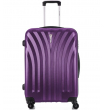 Средний чемодан спиннер L'case Phuket purple (69 см)