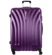 Большой чемодан спиннер L'case Phuket purple (76 см)