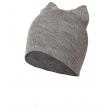 Легкая шапка с ушками WAG Топ259 grey-melanje