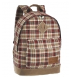 Рюкзак Asgard R-5437 tartan brown-red