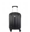 Малый чемодан спиннер L'case Bangkok black (55 см ~ручная кладь~)