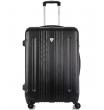 Средний чемодан спиннер L'case Bangkok black (63 см)