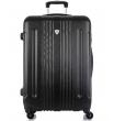 Большой чемодан спиннер L'case Bangkok black (72 см)