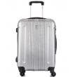 Средний чемодан спиннер L'case Bangkok light-grey (63 см)