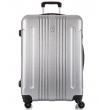 Большой чемодан спиннер L'case Bangkok light-grey (72 см)