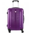 Средний чемодан спиннер L'case Bangkok purple (63 см)