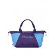 Сумка Capline 4805 aubergine-light-blue