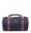 Спортивная сумка Studio58 7055 blue-brown-leather