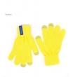 Перчатки для сенсорных устройств TrueSpin yellow