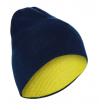 Шапка двухсторонняя WED'ZE REVERSE blue-yellow