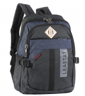 Рюкзак Leastat 3668 black-blue