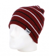 Шапка бини NEFF DAILY MULTISTRIPE red