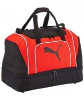 Футбольная сумка Puma Team Cat Football Bag red