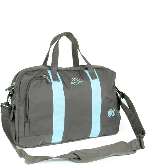 Спортивная сумка Polar G-268 серая