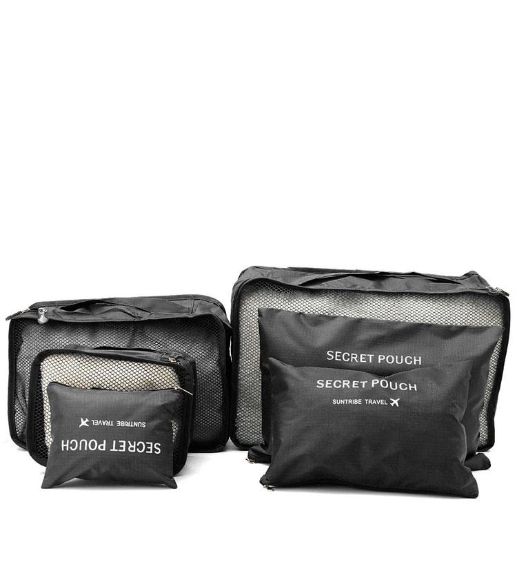 Набор сумок для чемодана Emkertion SP-6 black