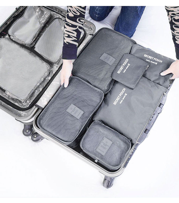 Набор сумок для упаковки Emkertion SP-6 grey