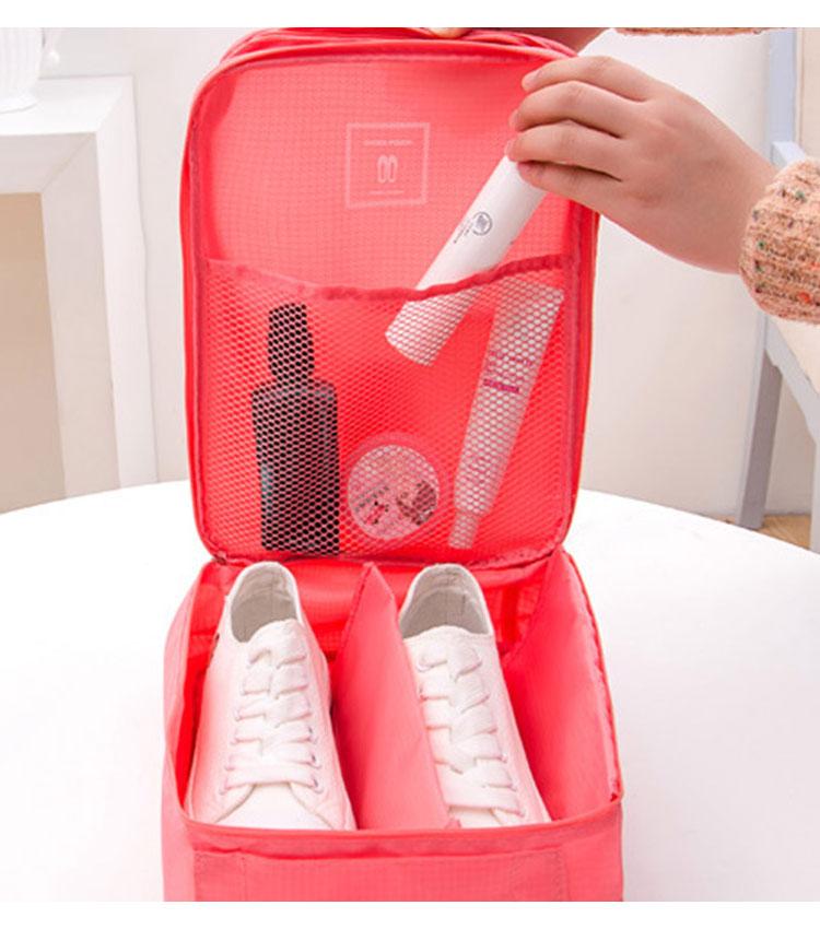Сумка для обуви Emkertion shoes-1 flowers red